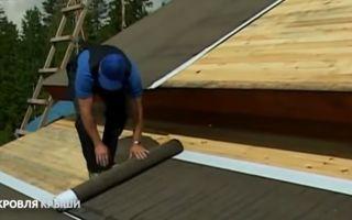 Кровельный пирог под мягкую кровлю: особенности обустройства крыши