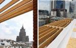 Варианты конструкций и особенности устройства плоской крышы по деревянным балкам