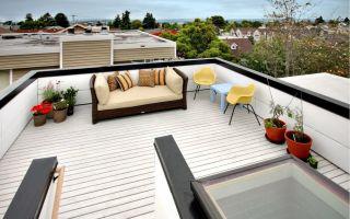 Планирование террасы на крыше: как воплотить в жизнь собственный проект?