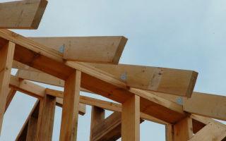 Мауэрлат для двускатной крыши: монтаж своими руками