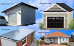 Односкатная крыша для гаража: проектируем и строим крышу