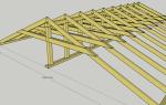Металлическая двухскатная крыша: технология монтажа