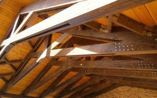 Деревянные стропила для крыши: виды и расчет конструкции