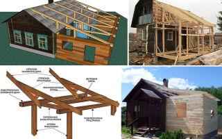 Как сделать крышу на пристройке к дому: рекомендации строителей