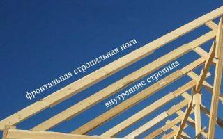 Основные правила и нюансы создания стропильной системы для двускатной крыши под металлочерепицу