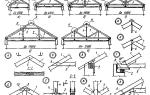 Обзор висячих стропил и схема их установки