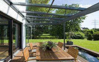 Прозрачная крыша для веранды: современное решение для дома