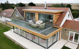 Общий обзор технологии строительства плоской крыши для частного дома