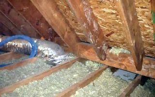 Чем утеплить крышу бани: виды утеплителей и правила их укладки