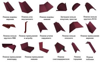 Доборные элементы для кровли из металлочерепицы: обзор фурнитуры и технология установки